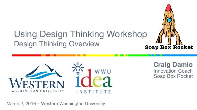 Using Design Thinking Workshop