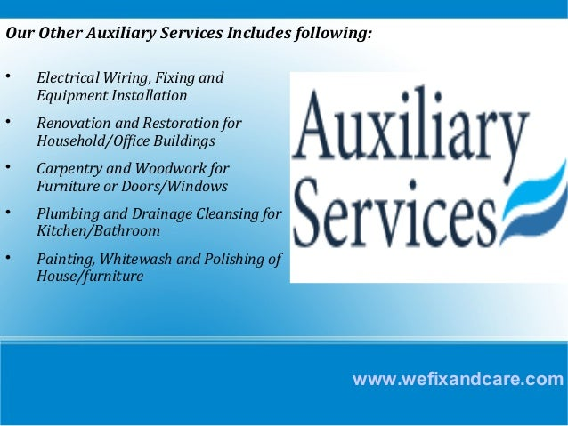 Image result for Auxiliary Services
