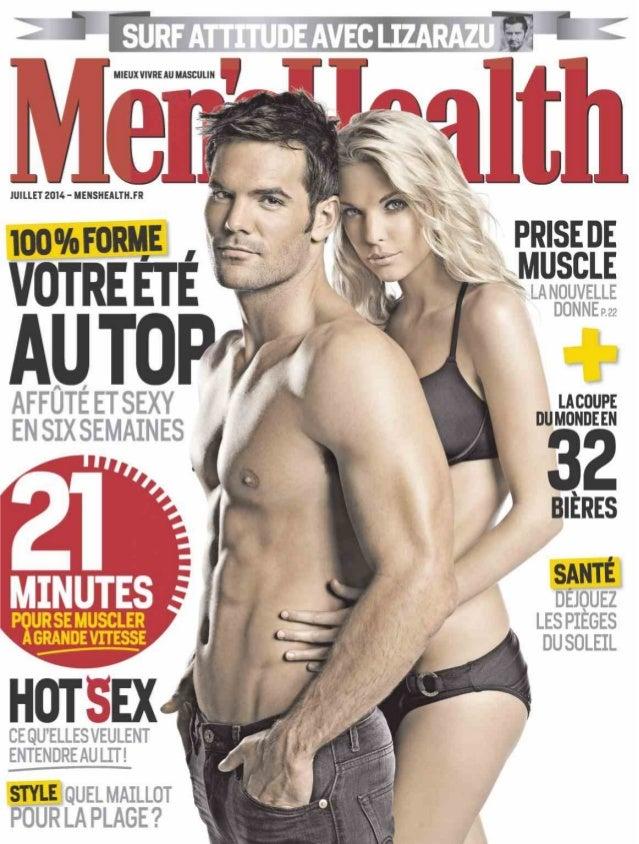 Magazine men's health no.65 juillet 2014  france