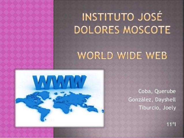 Coba, Querube  González, Dayshell  Tiburcio, Joely  11ºI