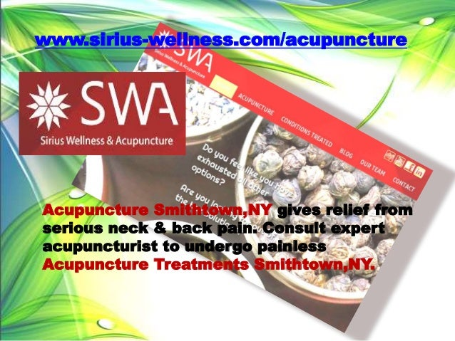 Acupuncture Long Island | Acupuncture Smithtown ...