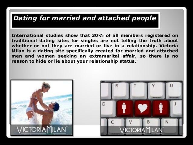 Dating website victoria milan
