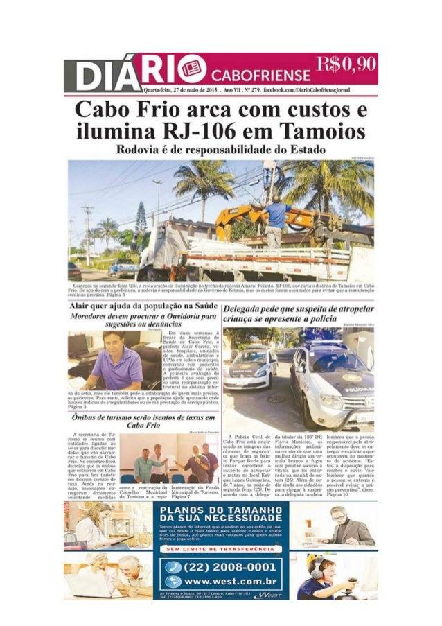 """Cabo Frio arca com custos e ilumina RJ-106 em Tamoios  r  e 7.2'   Rodovia            . Z  (""""uma-yu m¡ «funda (nn 1:5' u r..."""