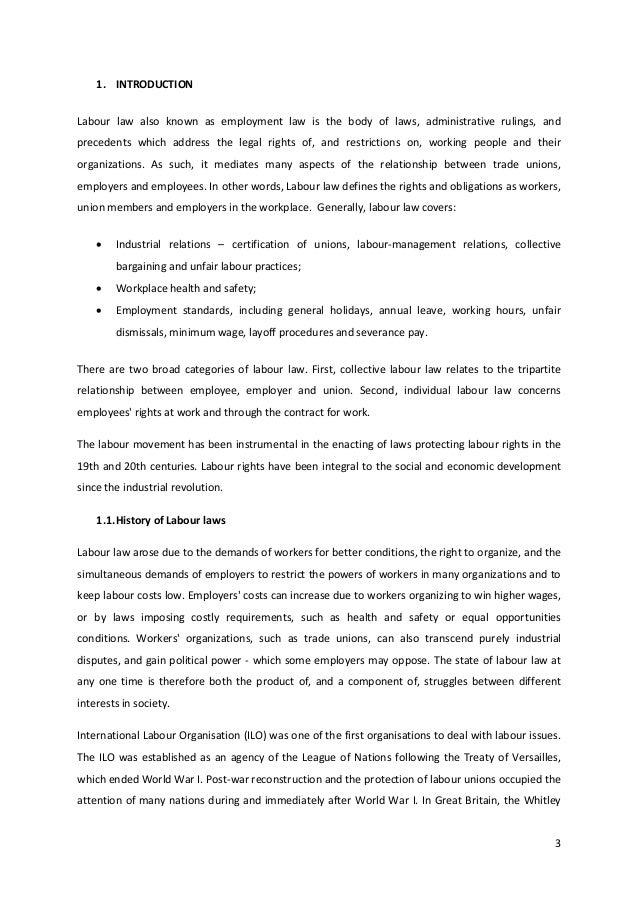 labour law in hr pdf