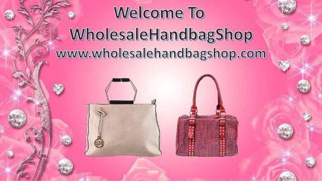 Fashion Handbags www.wholesalehandbagshop.com Designer Handbags www .wholesalehandbagshop.com Unique Designs ... 4e71941440