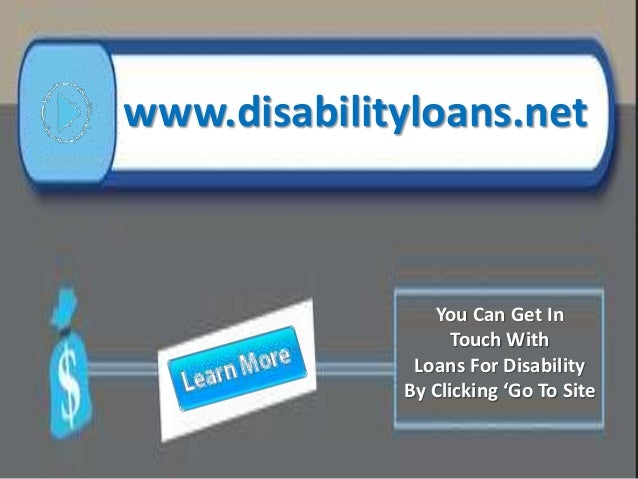 disability loans simple goal into smart goal for disabled people 7 638