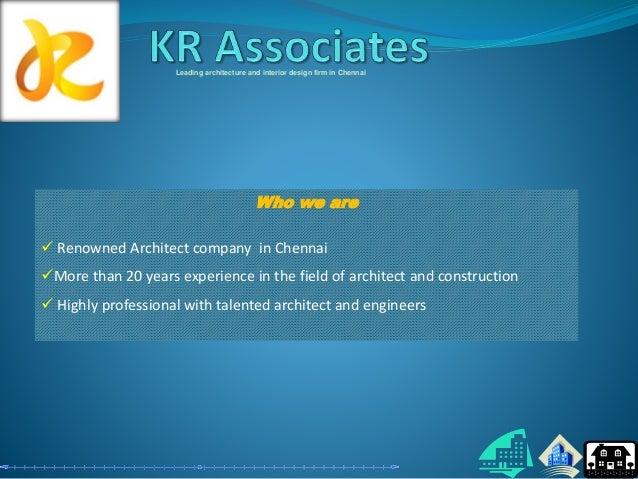Top Architecture and interior design firm in chennai