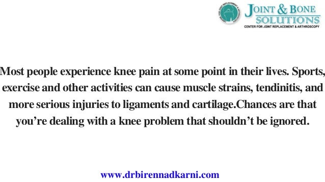 An introduction to the personal experience of knee surgery