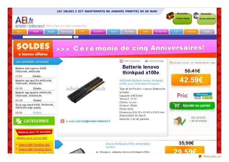 Bien chez soi, bien moins cher So ny           Acer            Apple     Samsung        HP      Leno vo      Asus         ...