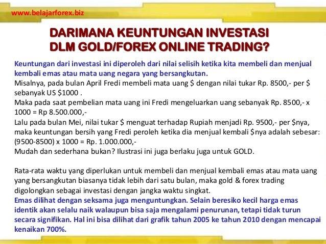 Cara trading forex gold
