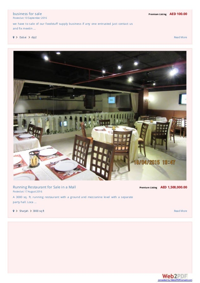 15 Business For Sale
