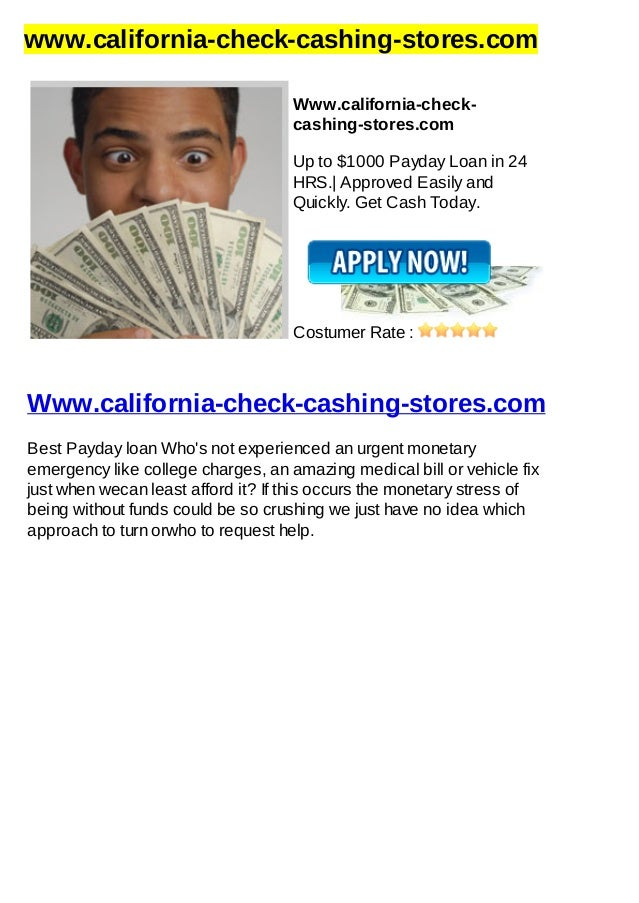 www.california-check-cashing-stores.comWww.california-check-cashing-stores.comUp to $1000 Payday Loan in 24HRS.| Approved ...