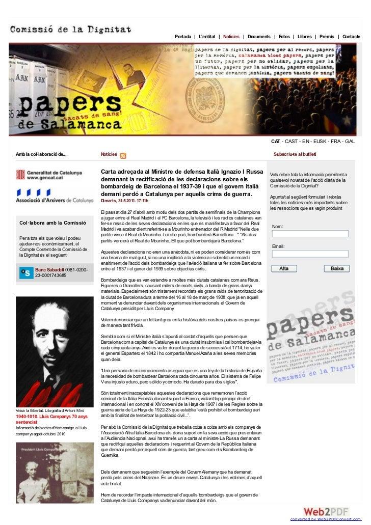 Portada | Lentitat | Notícies | Documents | Fotos | Llibres | Premis | Contacte                                           ...