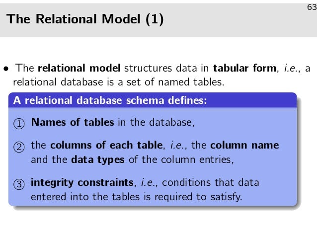 Introduction and Relational Databases