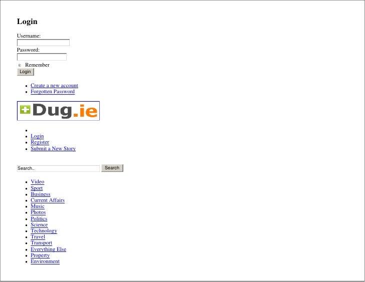 Login Username:  Password:  c d e f g Remember Login         Create a new account       Forgotten Password            ...