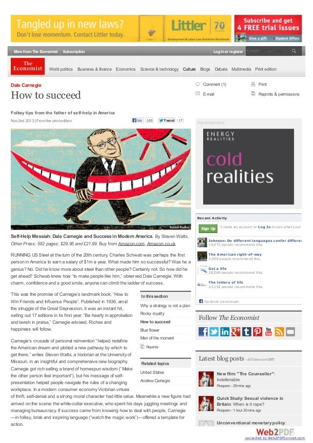 More from The Economist  Subscription  Log in or register  World politics Business & finance Economics Science & technolog...