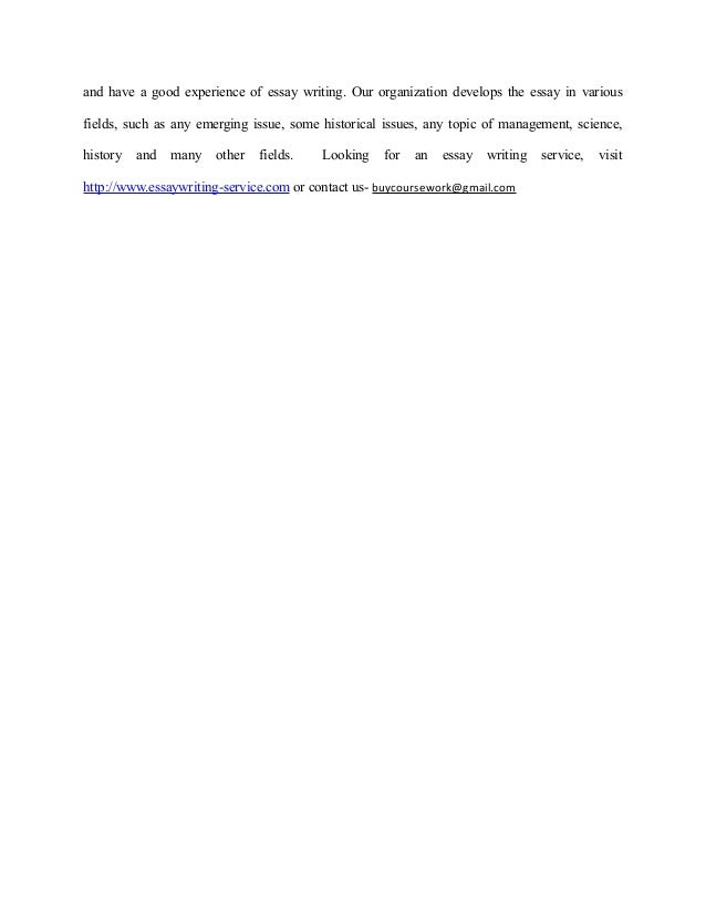 outline for argumentative research essay