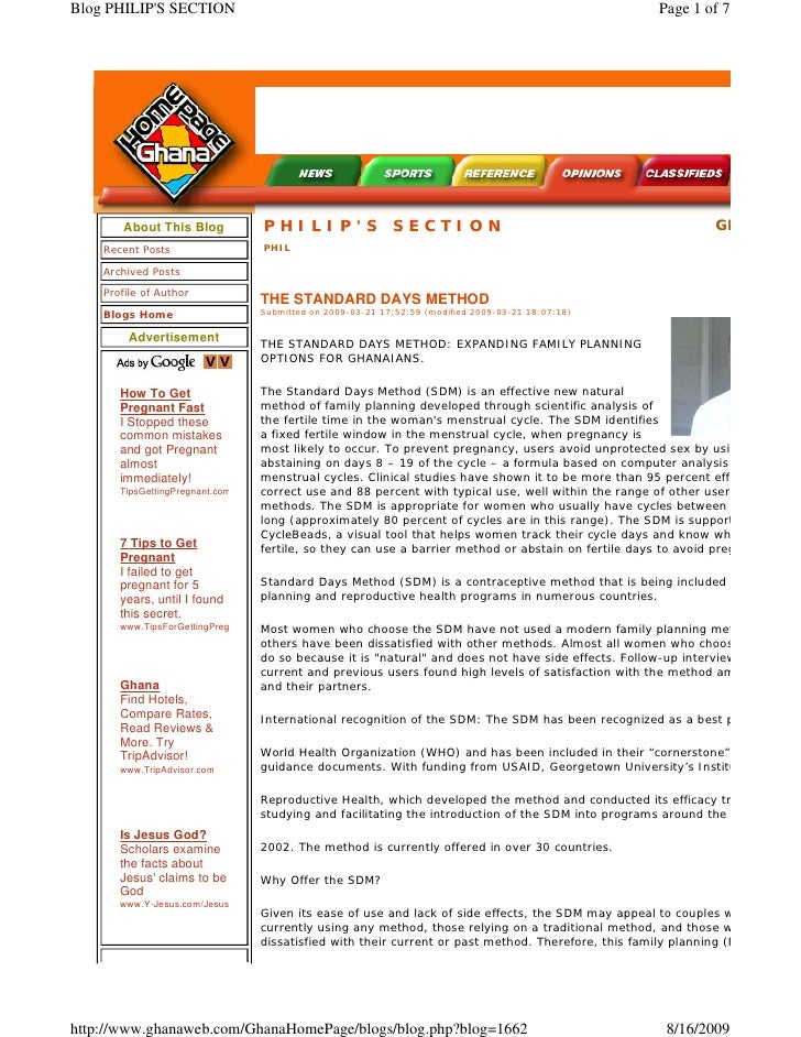 Blog PHILIP'S SECTION                                                                                   Page 1 of 7       ...
