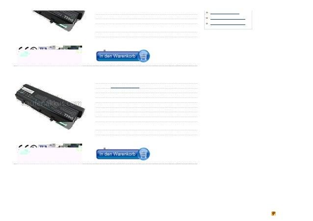 Abmessungen : 221.00 x 67.49 x 20.30 mm                                Akku DELL XPS L322X                                ...