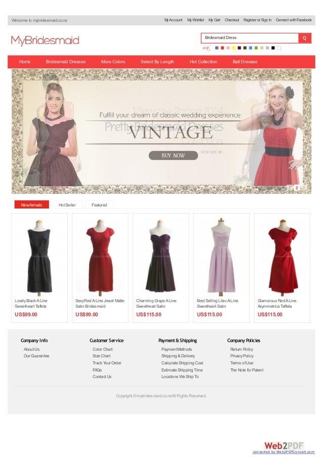 Mybridesmaid.co.nz - Best Bridesmaid Dresses New zealand