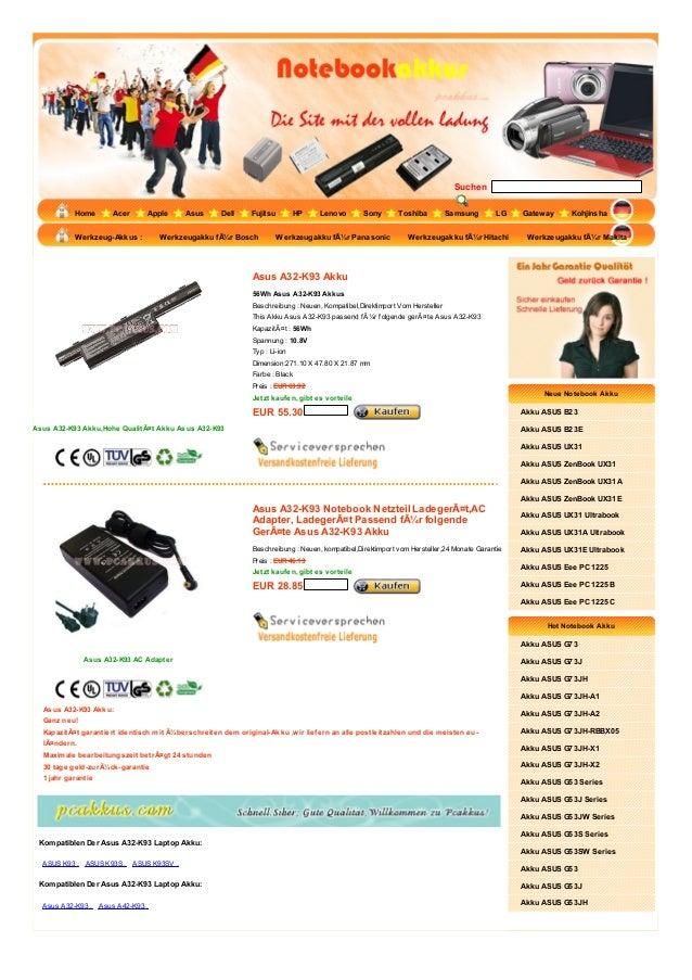 Suchen           Home       Acer      Apple      Asus      Dell     Fujitsu         HP    Lenovo        Sony       Toshiba...