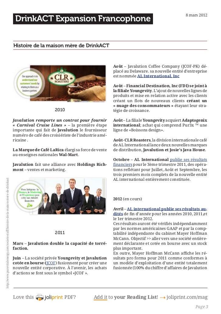 A.C.T. histoire-de-la-maison-mere-de-drinkact Slide 3