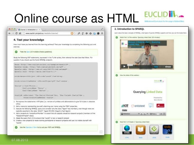 Online course as HTML 07.08.2013 32
