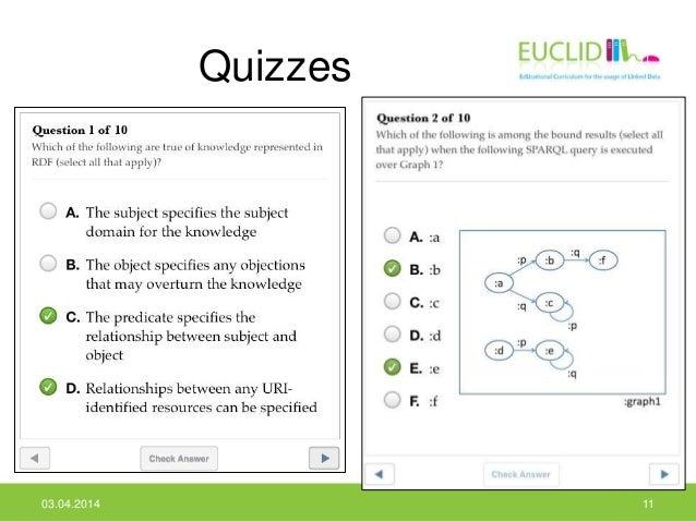 Quizzes 03.04.2014 11
