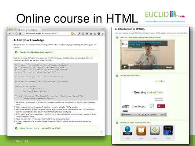Online course in HTML 03.04.2014 16