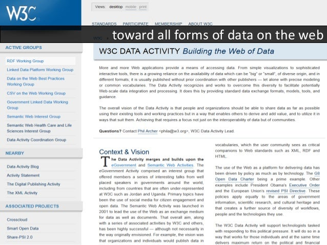 SAWSDLsemantic annotation of WSDL (W3C Rec. 2007)