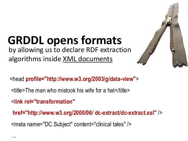 annotating multimédia elements • semantic description of multimedia resources [Media Annotation] • pointing to internal el...
