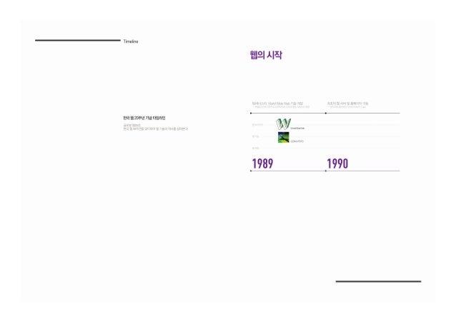 한국 웹20주년 기념 소책자