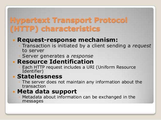 HTTP Request Format Request Line Header Lines  GET /index.html HTTP/1.0  Specifies resource via URI & meta data  Host: www...