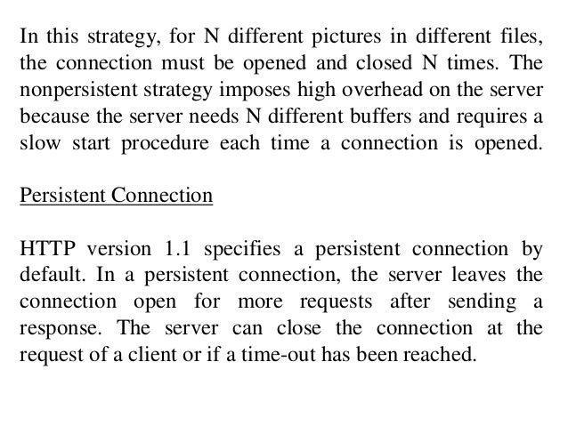 In this strategy, for N different pictures in different files,  the connection must be opened and closed N times. The  non...