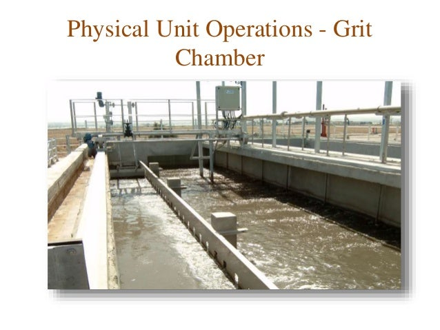 Physical Unit Operation- Screening, Grit Removal, Equalization