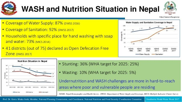 Prof. Dr. Geeta Bhaka Joshi, Member, National Planning Commission, and Coordinator, National Nutrition and Food Security C...