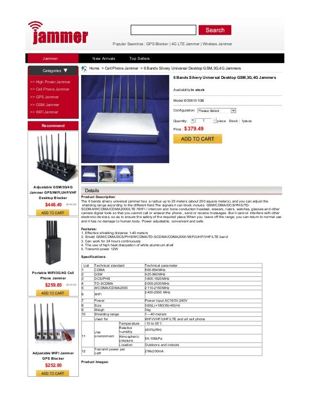 Cell Phone Signal Jammer,Stop the Telephone