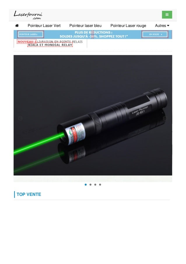  Pointeur Laser Vert Pointeur laser bleu Pointeur Laser rouge Autres  TOP VENTE