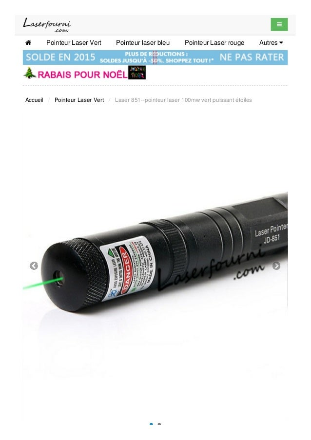 laser 851 pointeur laser 100mw vert puissant toiles. Black Bedroom Furniture Sets. Home Design Ideas