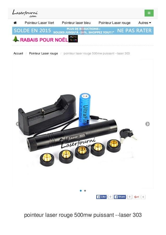 pointeur laser rouge 500mw puissant --laser 303