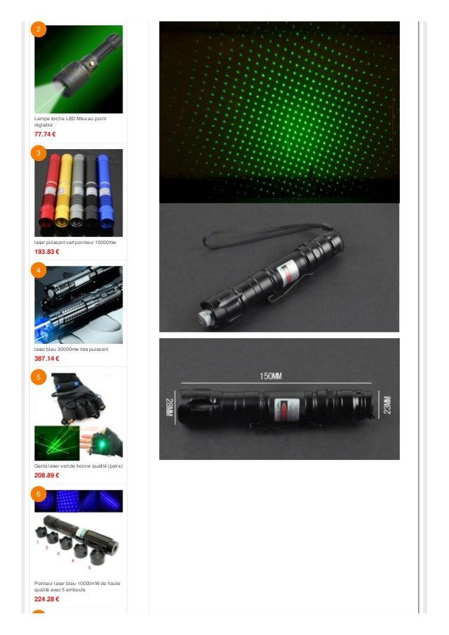 image Pointeur laser vert 1000mw 2000mw3000mw