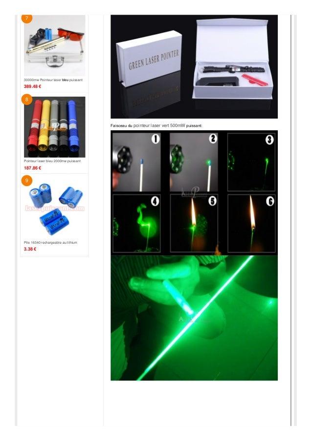 500mw Pointeur laser Point vert