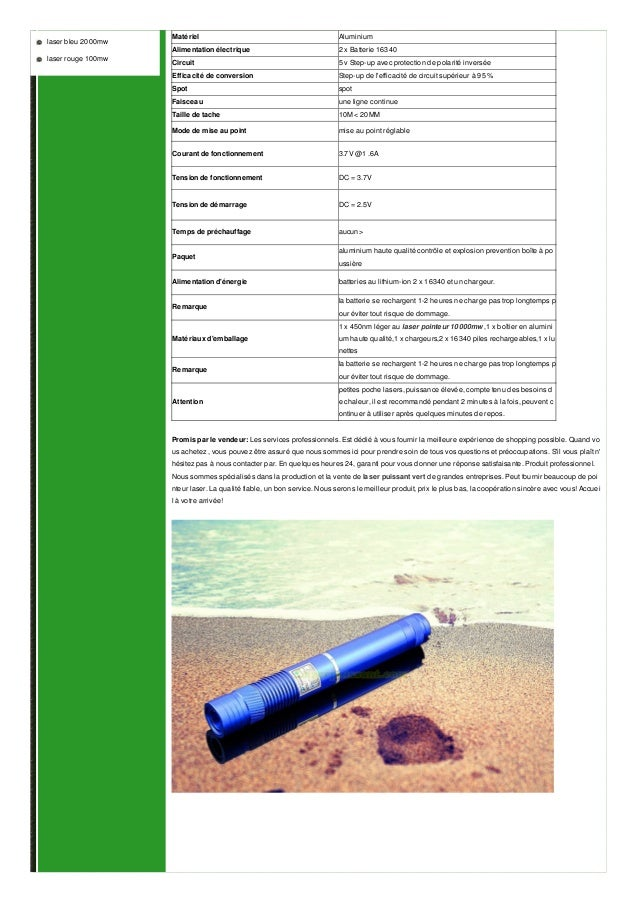 pointeur laser vert 10000mw Slide 2