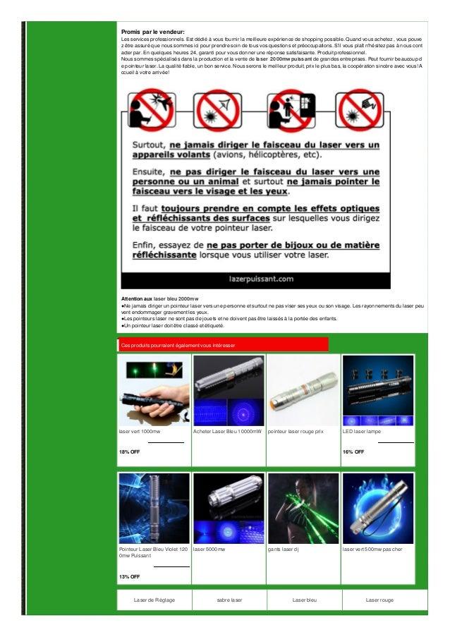 laser 2000mw puissant