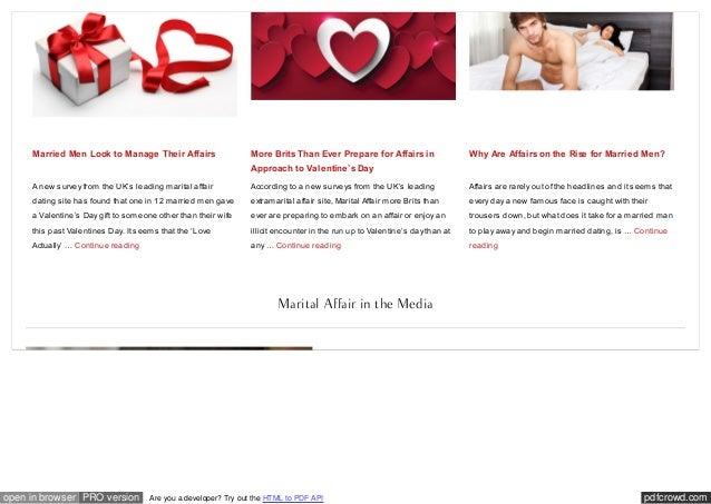 Extramarital dating uk