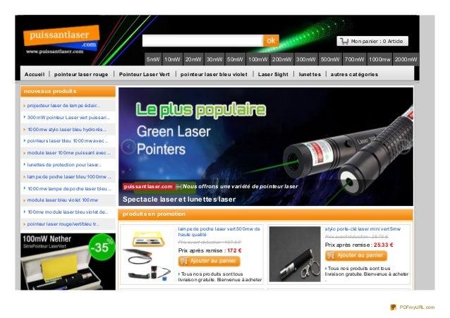 Mon panier : 0 Article 5mW 10mW 20mW 30mW 50mW 100mW 200mW 300mW 500mW 700mW 1000mw 2000mW Accueil pointeur laser rouge Po...