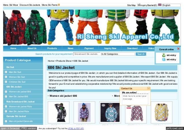 Mens Ski Wear | Discount Ski Jackets | Mens Ski Pants                                                                     ...