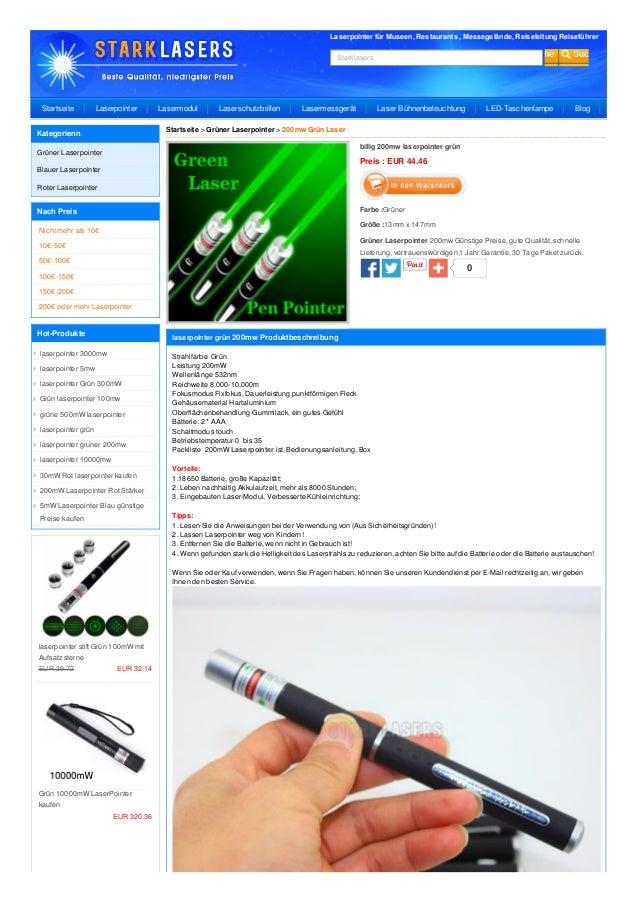 Laserpointer für Museen, Restaurants , Messegelände, Reiseleitung Reiseführer Starklasers 0 billig 200mw laserpointer grün...