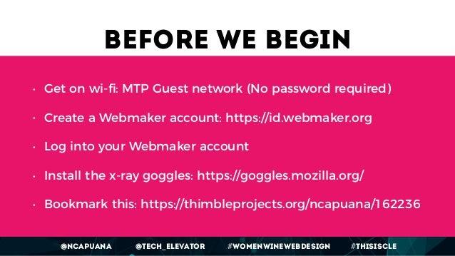Women, Wine & Web Design - workshop Slide 2