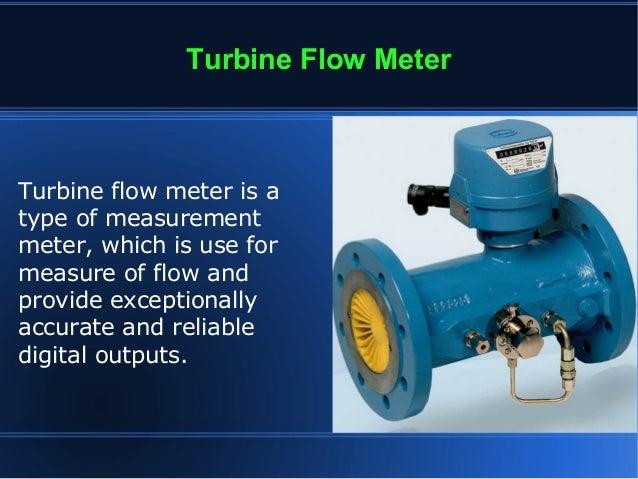 Working Principle of Turbine Flow Meter